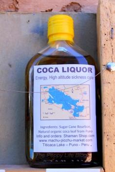 Liquor made out of coca