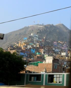 Cerro San Cristobal/Saint Cristobal hill