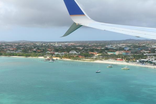 Arriving to Aruba