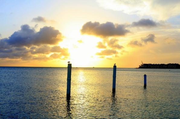 Sunset at Surfside beach