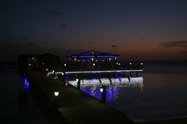 Pinchos Restaurant right on Surf Side Beach