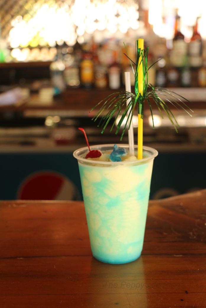 Blue Curacao Margarita