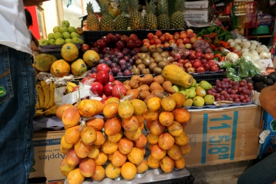 Fresh fruit in the local market