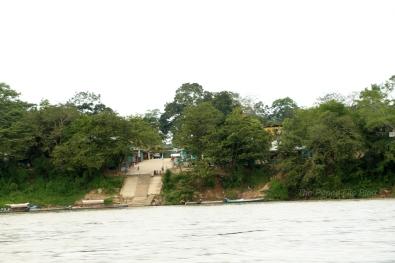 Guatemala on the other side of the Usumacinta